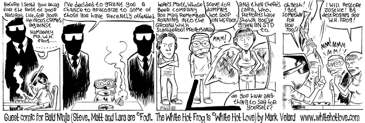 Comic graphic for 2005-03-28: Guest Comic